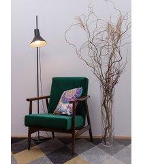 fotel:lisek butelkowa zieleń! + gratis