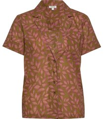 alice overhemd met korte mouwen roze love stories