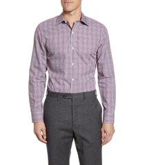 men's bonobos malden trim fit plaid dress shirt