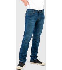 jeans levis 511 slim mex dark 38 azul - calce slim fit
