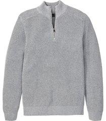 maglione con cotone riciclato (grigio) - rainbow