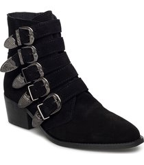 9985 shoes boots ankle boots ankle boot - heel svart pavement