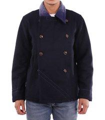 ermanno gallamini navy jacket