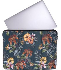 estuche laptop estampado flores