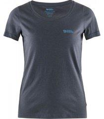 fjällräven t-shirt fjällräven women logo navy