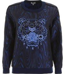 kenzo jacquard sweatshirt