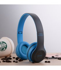 audífonos bluetooth manos llibres inalámbricos, p47 auricular sin hilos de audifonos bluetooth manos libres  auriculares auriculares dre (azul)
