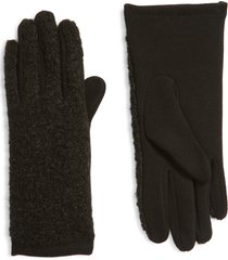 men's nordstrom boucle gloves, size one size