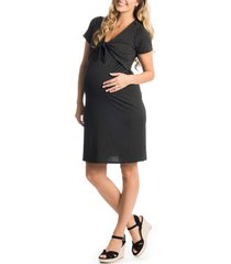 women's everly grey jada maternity/nursing dress