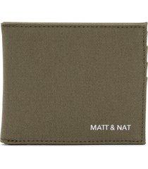matt & nat rubben wallet, olive