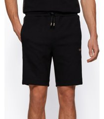 boss men's headlo interlock-fabric shorts