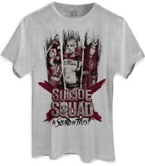 camiseta bandup esquadrão suicida we trust