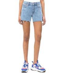 shorts regular iconic azul calvin klein