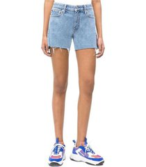 shorts regular iconic azul calvin klein