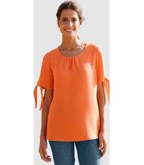 blouse basically you oranje