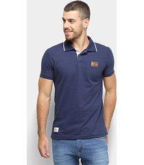 camisa polo ecko piquet básica masculina