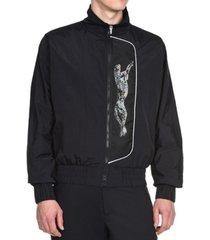 just cavalli men's cheetah graphic sports jacket