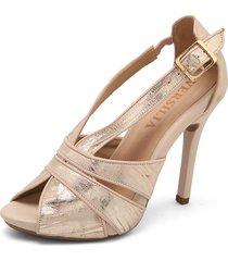 sandalia oro rosa oro/002651