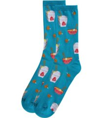memoi let's order takeout women's novelty socks