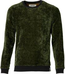 anerkjendt pullover - slim fit - groen