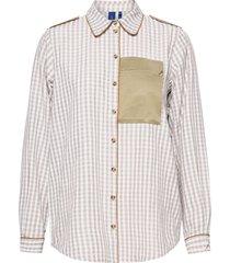 aliyah shirt overhemd met lange mouwen bruin résumé