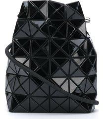 bao bao issey miyake lucent drawstring crossbody bag - black