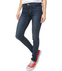 jean levis 710 super skinny performance adv stretch novelty indigo