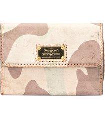 as2ov foldover top wallet - brown