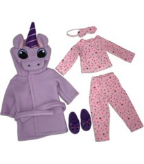 ruby red fashion friends unicorn dreams outfit set