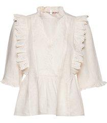 blouse blouse lange mouwen crème noa noa