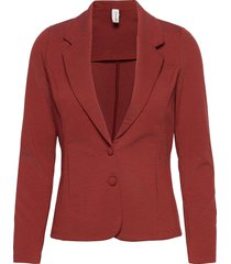 sc-daniela blazers casual blazers röd soyaconcept