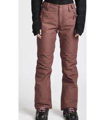 pantalon de nieve malla ins pant crushed berry billabong