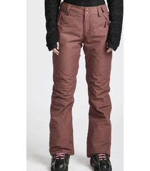 pantalon de nieve malla ins pant crushed berry billabong