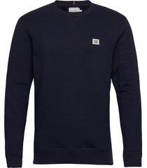 boozt piece sweatshirt sweat-shirt trui blauw les deux