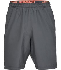 pantaloneta under armour woven graphic wordmark para hombre