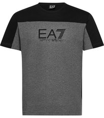t-shirt t-shirts short-sleeved grå ea7