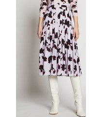proenza schouler painted iris skirt powder pink/red painted iris/white 8