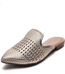 slipper rosa-dorado beira rio