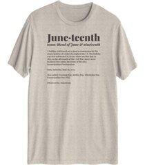men's juneteenth short sleeve graphic t-shirt