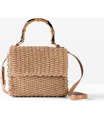 borsa a mano di paglia (beige) - bpc bonprix collection