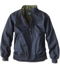 cascade bone-dry jacket, navy, small