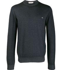 etro casual sweatshirt - grey