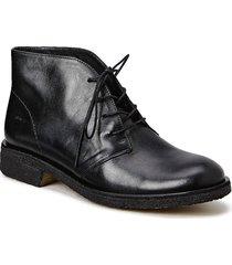 booties - flat shoes boots ankle boots ankle boots flat heel svart angulus