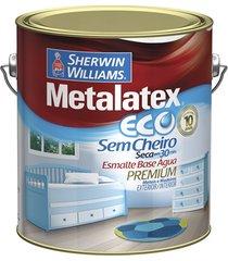 tinta eco esmalte acetinado branca 3,6 litros