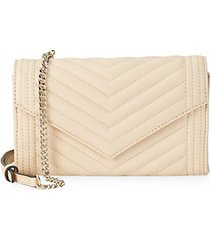 quilted leather crossbody envelope clutch
