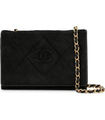 chanel pre-owned 1985-1993s quilted cc single chain shoulder bag -