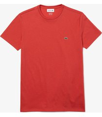 lacoste t-shirt rood regular fit th6709/67g