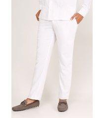 pantalón para hombre blanco blanco 32