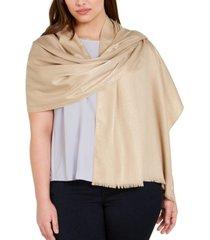 calvin klein ombre lurex scarf
