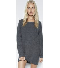 titus sweatshirt dress - xs black